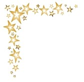 Falling Stars clipart border Star decoration photo#15 Decoration Clipart