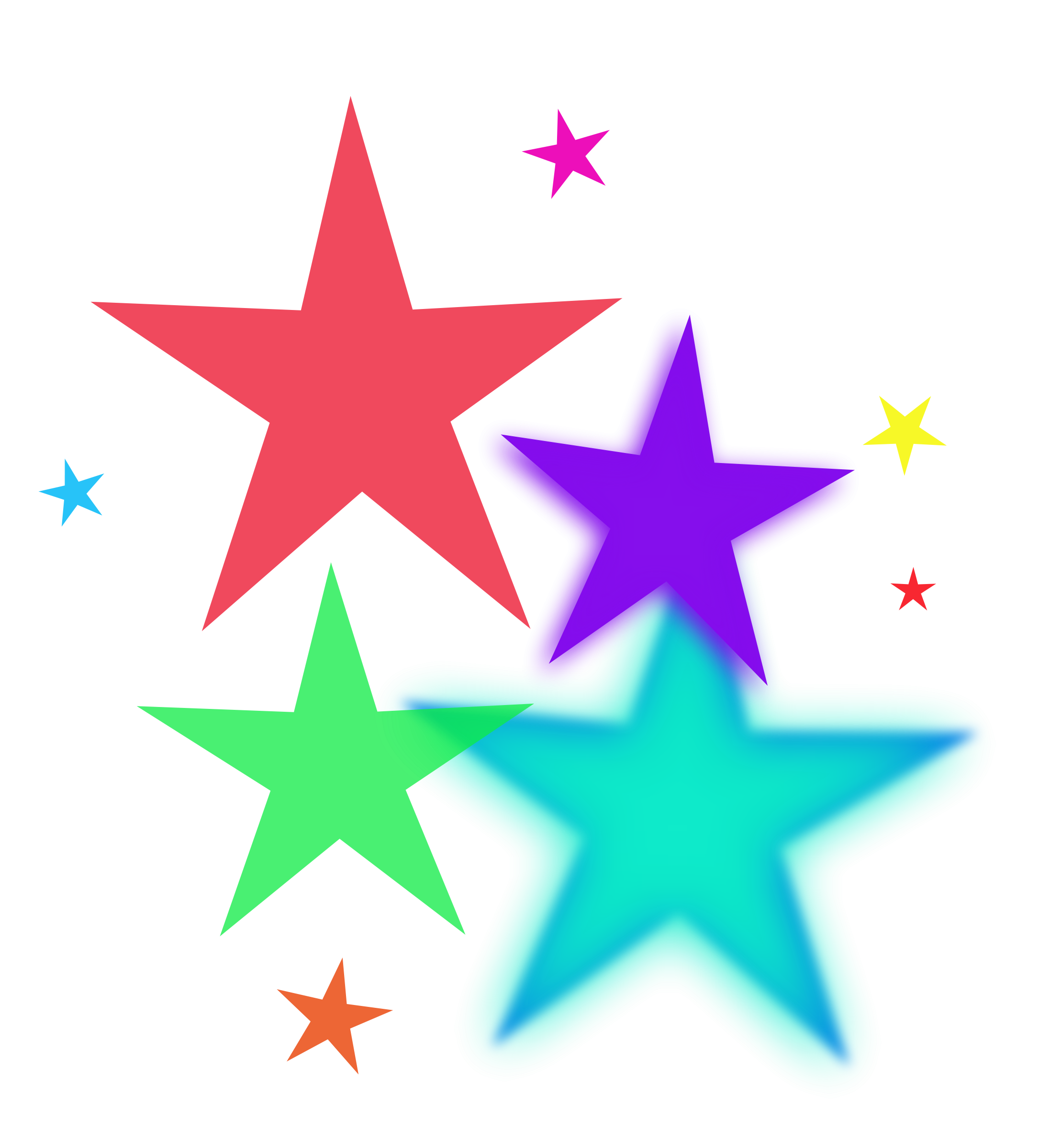 Falling Stars clipart border Clip Stars Stars  Clipart