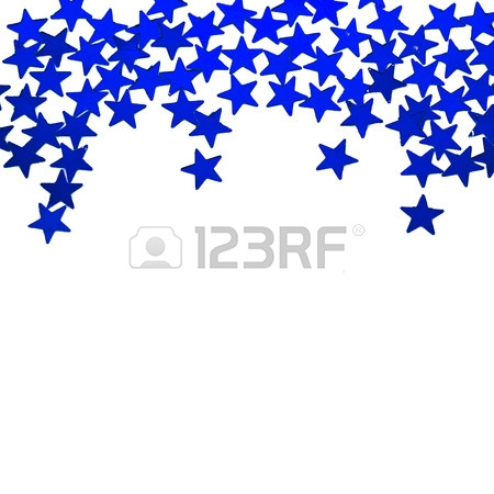Falling Stars clipart border Panda com Free star Star