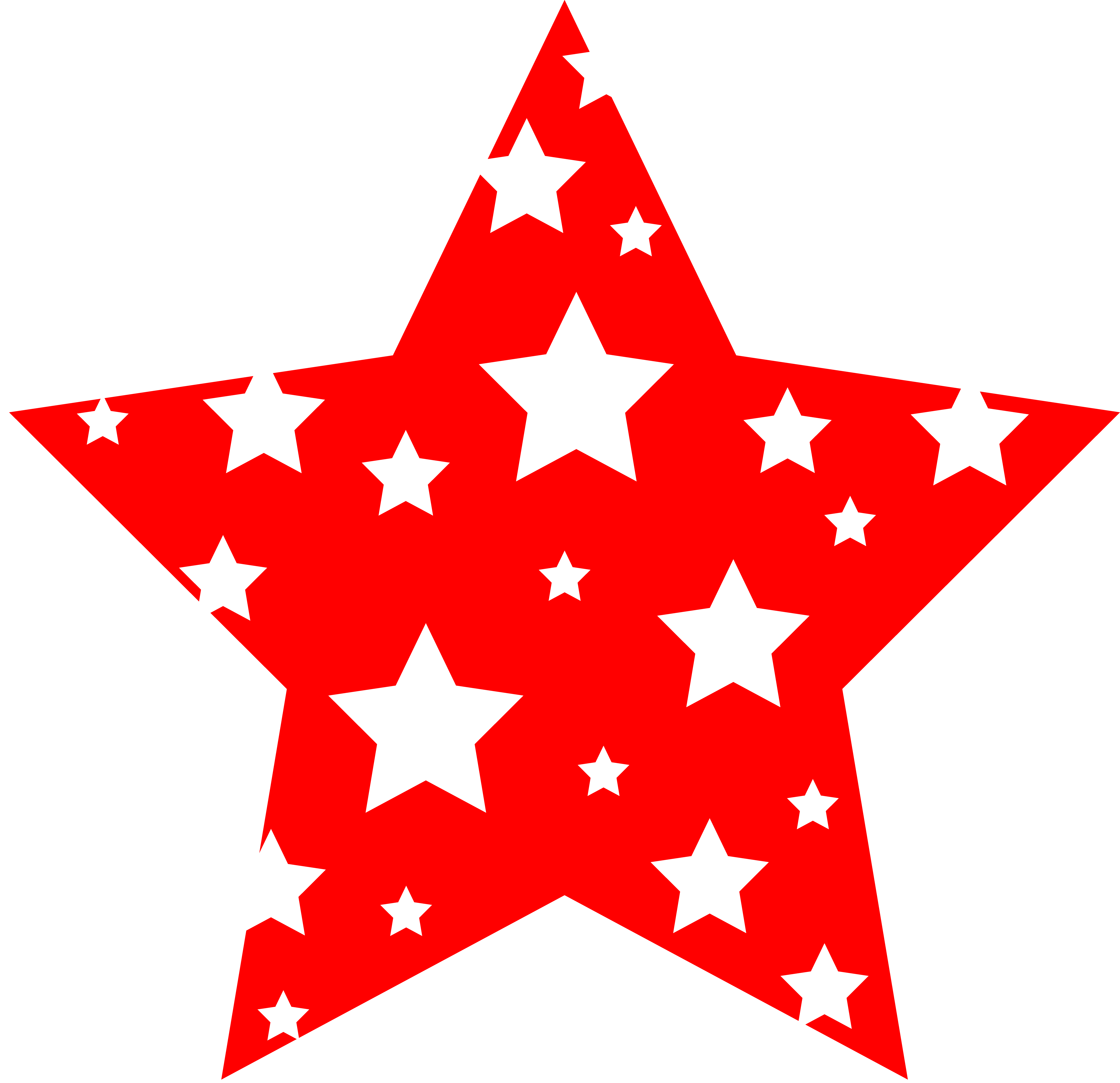 Falling Stars clipart christmas star Clip star com free and