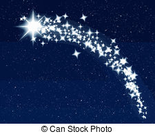 Falling Stars clipart christmas star Vector Clipart collection stars shooting