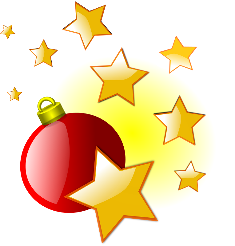 Falling Stars clipart christmas star Clip Of Clip Art Download