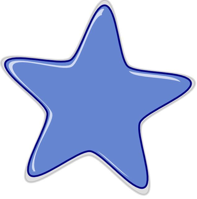 Falling Stars clipart colourful star Star to 8 Images Free