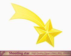Falling Stars clipart cute Shooting Star  Pinterest star