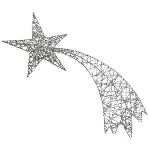 Falling Stars clipart glitter Polyvore Stars Glitter Hanging Silver