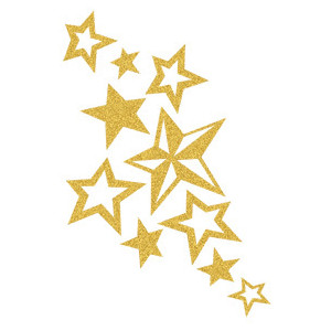 Shooting Star clipart gold Gold Star Free clipartfest clipart