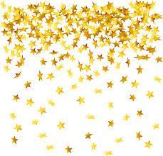 Falling Stars clipart golden star BackgroundGold windchime Image for stars