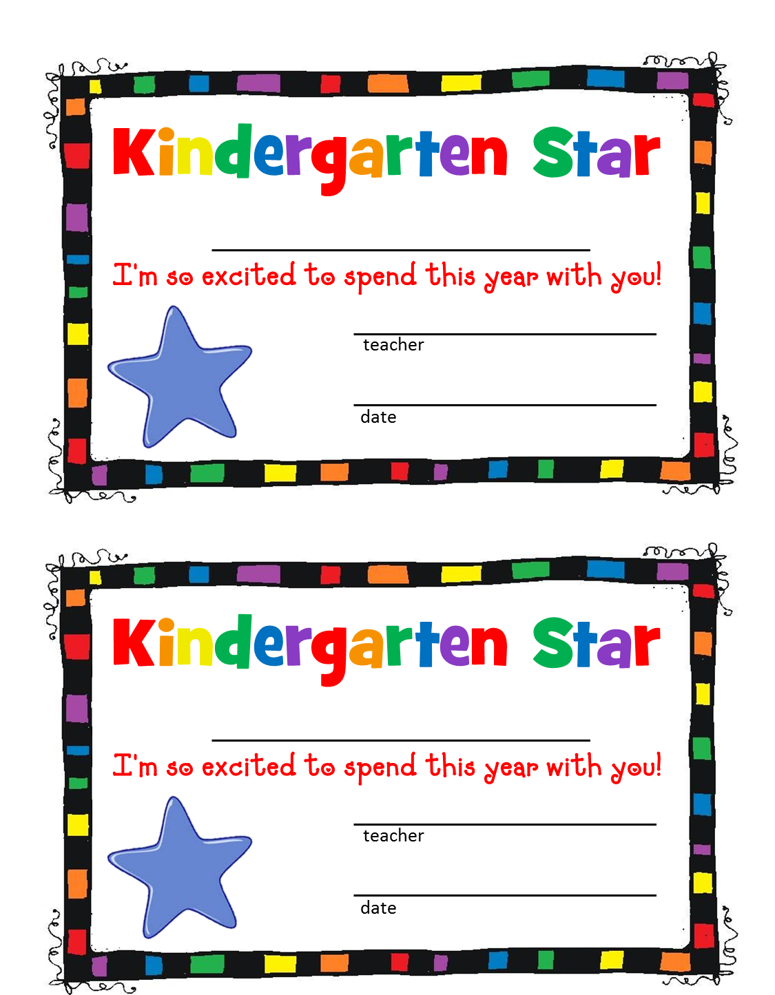 Falling Stars clipart kindergarten To Free Clipart Clipart Clipart