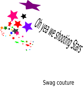 Shooting Star clipart star confetti Com Clker Stars Art Stars