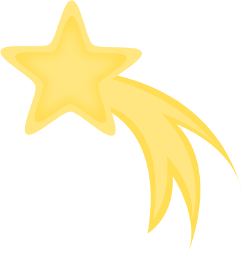 Fun clipart shooting star From Shooting Art Art Clip