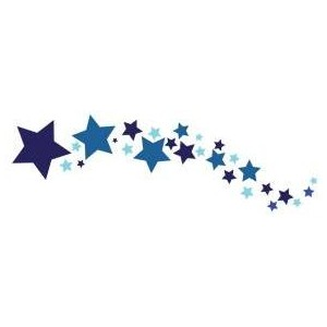 Shooting Star clipart star confetti The at Designs Murals and