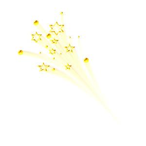 Shooting Star clipart magic star Lights Stars & Polyvore shadows