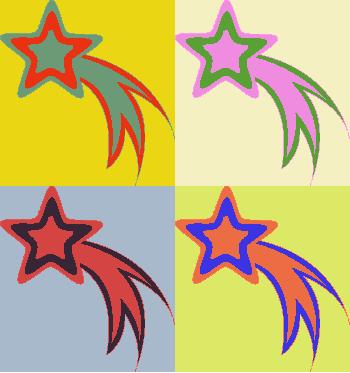 Falling Stars clipart meteor Stars – Shooting Gclipart star