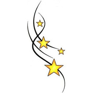 Falling Stars clipart moon star  StarsShooting Shooting (300×300) thing
