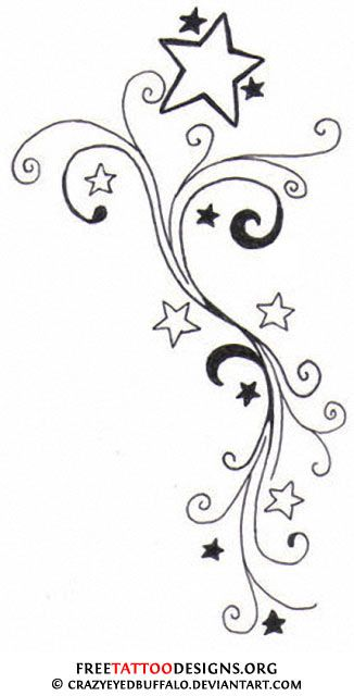 Falling Stars clipart moon star On Nautical and 46 Pinterest