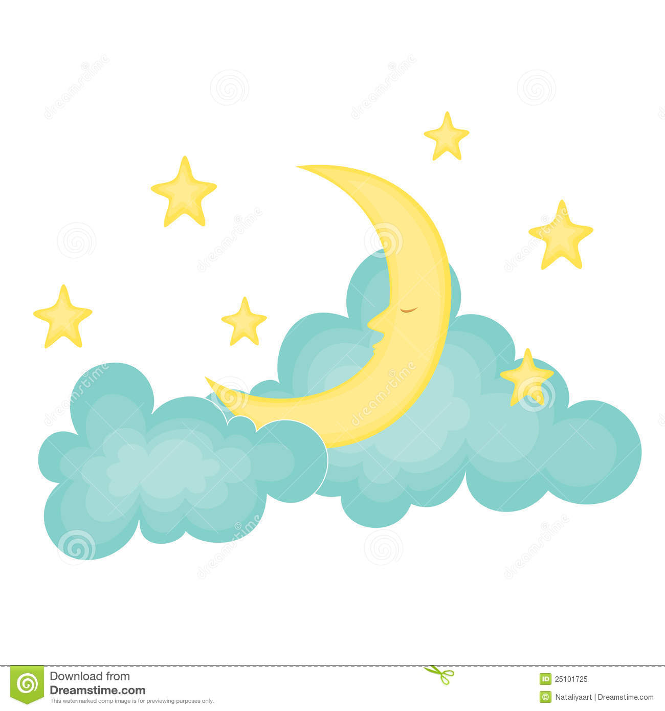 Falling Stars clipart moon star THE Moon AND Savoronmorehead Stars