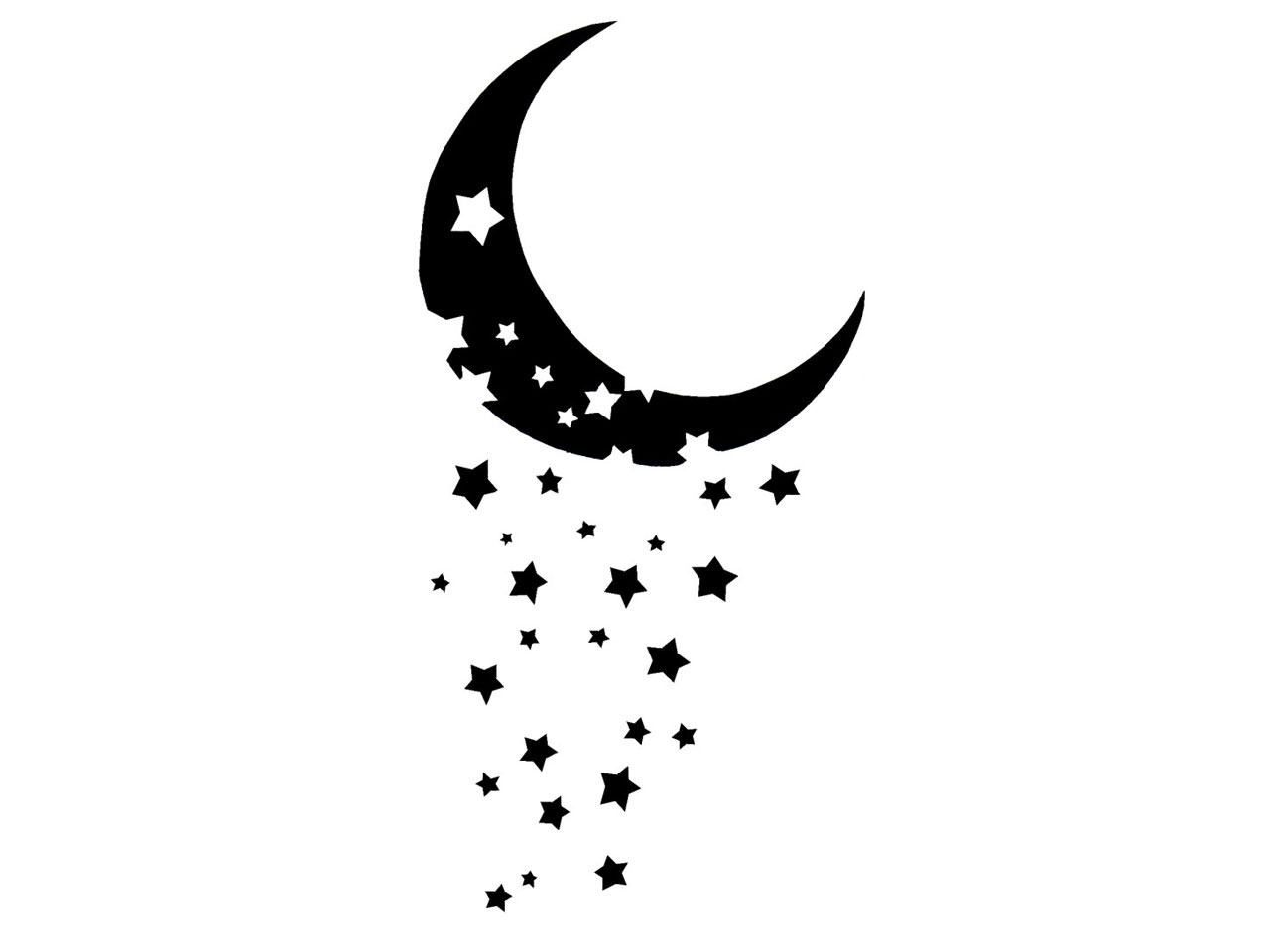 Falling Stars clipart moon star Pinterest Cool Designs 20+ And