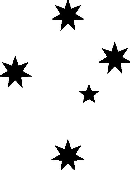 Black clipart star Black Panda Clip Free Shooting