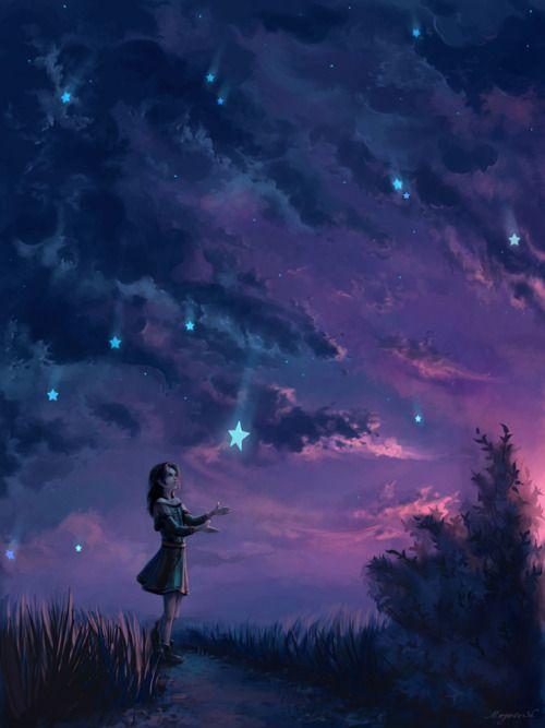 Falling Stars clipart night star A Falling a history falling