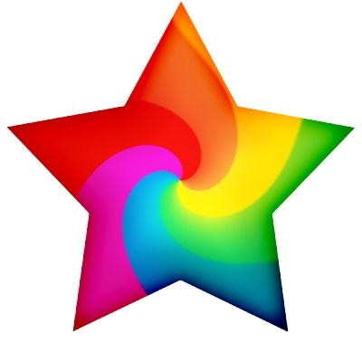 Peace Sign clipart rainbow stars Shiny images colorful about best