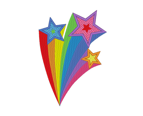 Shooting Star clipart wishing star Clipart – Rainbow Gclipart 2