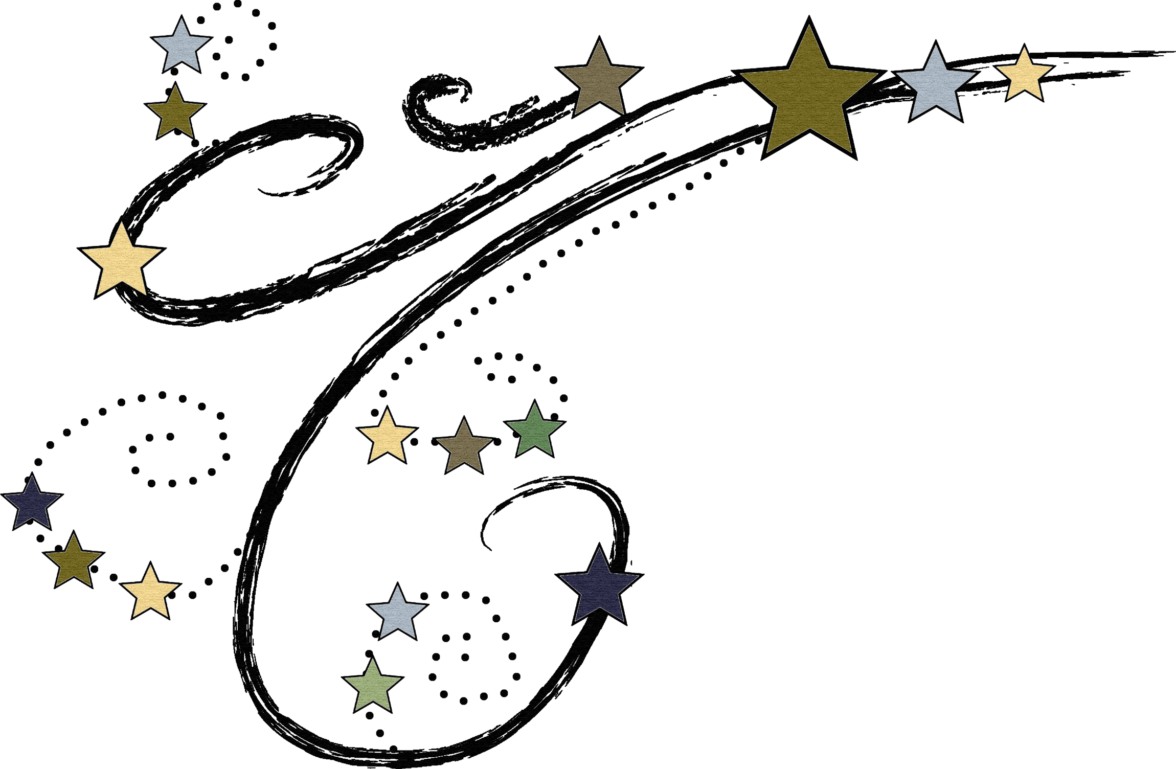Falling Stars clipart reach for star Stars Shooting The com Star