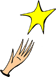 Falling Stars clipart reach for star World reach Perfect Metaphors for