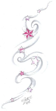 Falling Stars clipart reach for star Tattoo · Star 2Face on