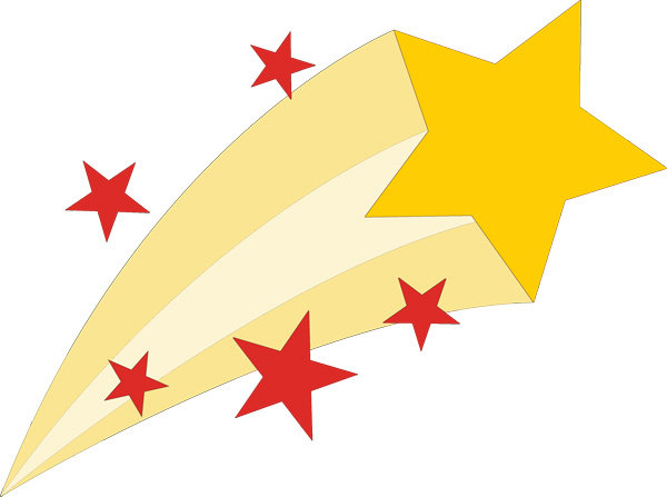 Falling Stars clipart rising star Assembly Elementary these to Winners