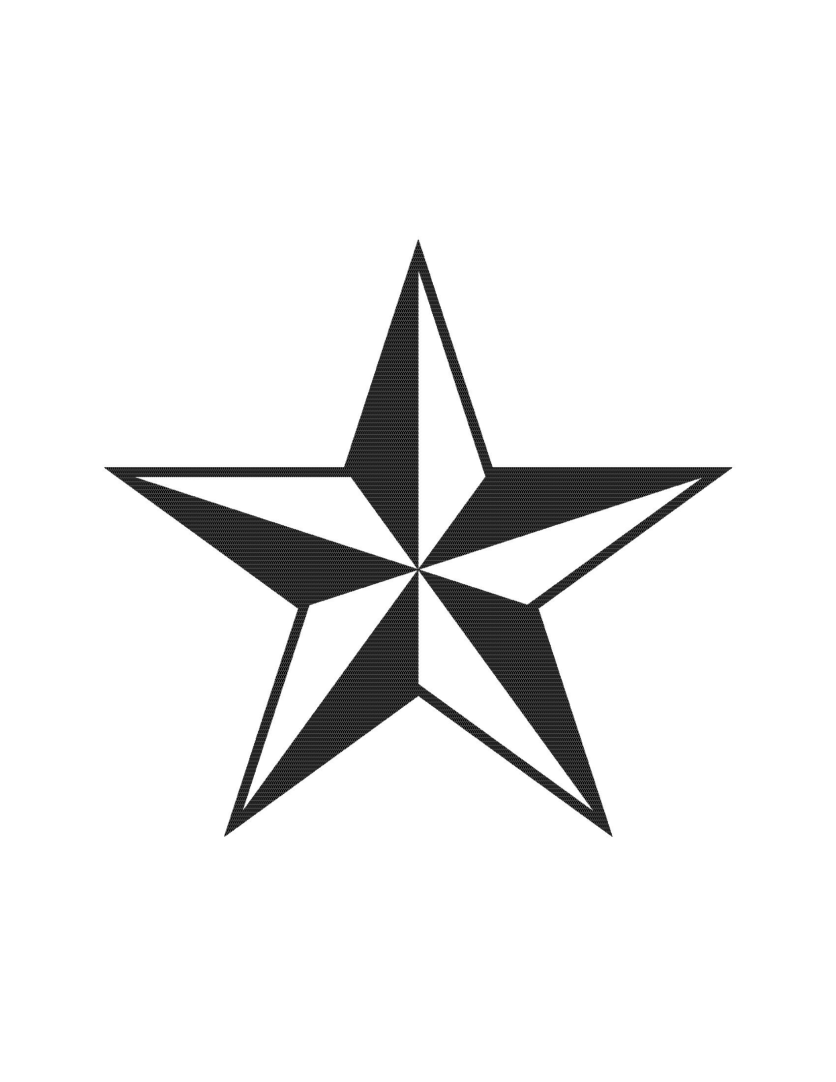 Punk clipart western star #15