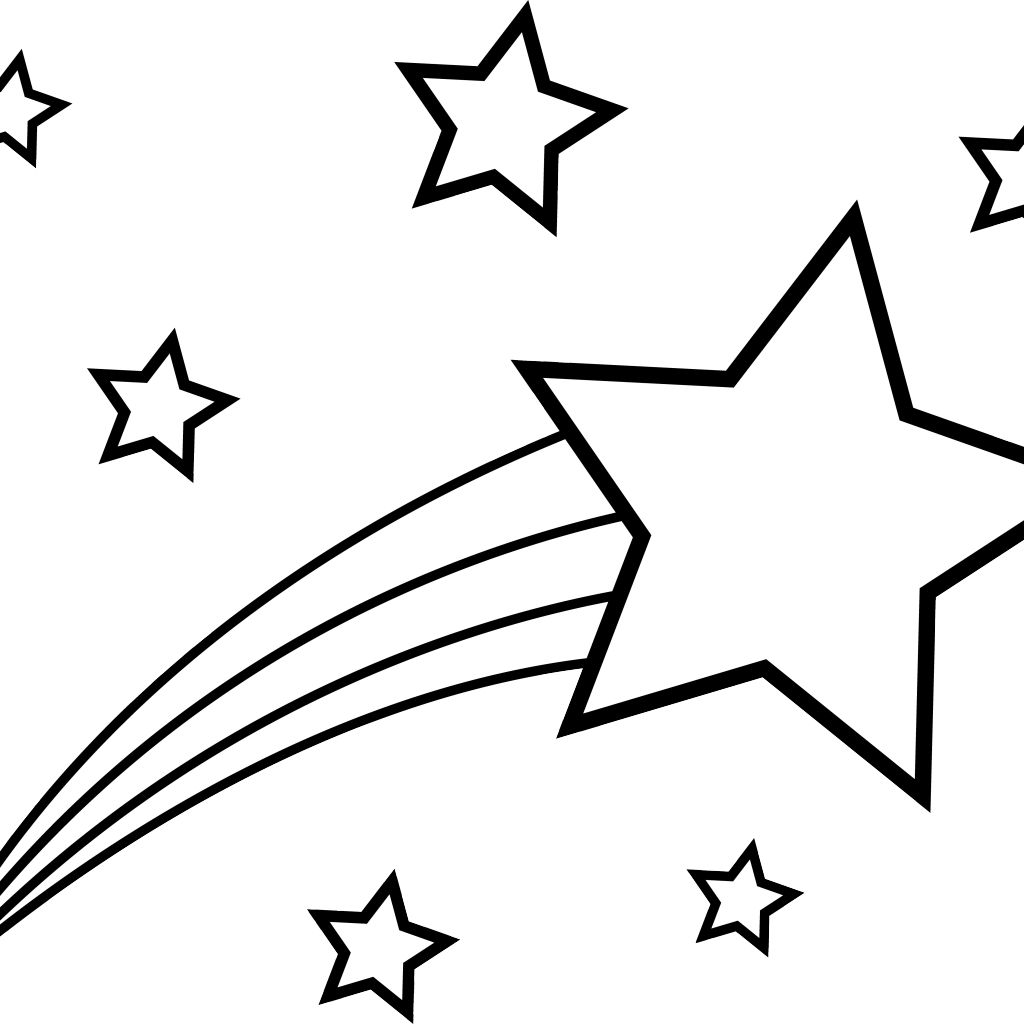 Shooting Star clipart drawn Clip DRAWING Free Star Drawing