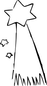 Falling Stars clipart star award Shooting Star  Shooting Clip