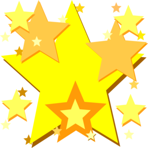 Falling Stars clipart star award Free clipart clip Yellow images
