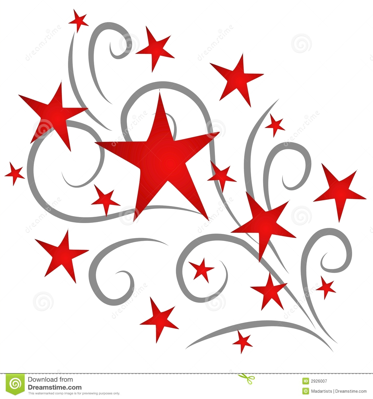 Shooting Star clipart star explosion Stars THE Image MOON Red