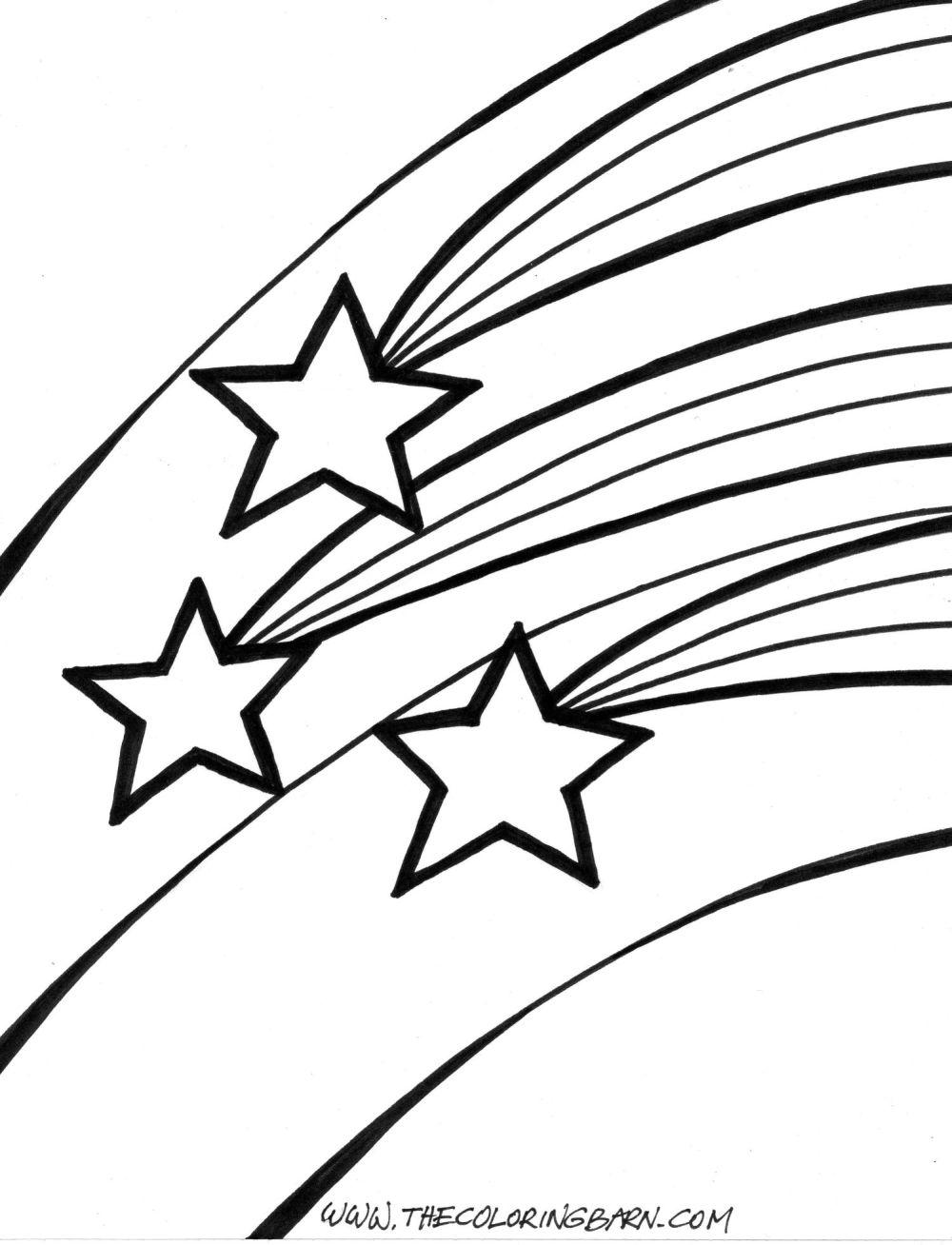 Falling Stars clipart star outline Star Free Art  Star