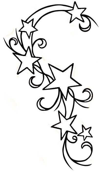 Shooting Star clipart outline Stars Gclipart com was photo