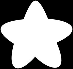 Falling Stars clipart star outline Black Free White Art