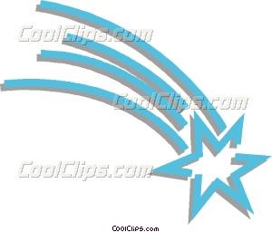 Blur clipart shooting star Shooting art Vector Clip star