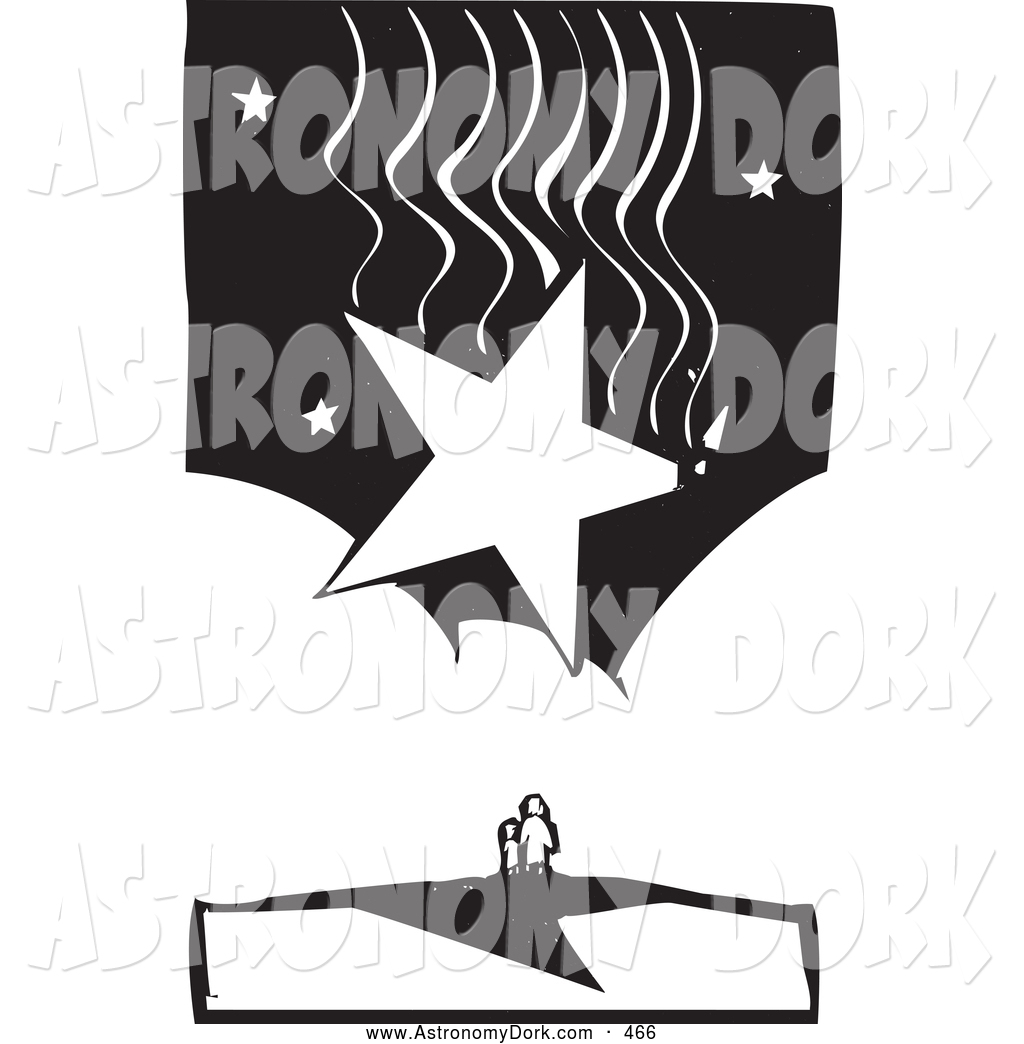 Shooting Star clipart single Designs Royalty Astronomy of Stars