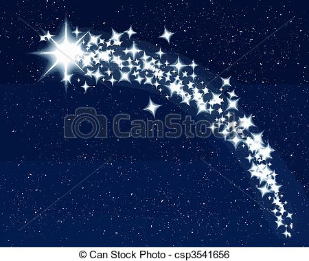 Falling Stars clipart star trail 824 Star Star royalty and
