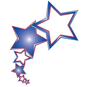 Falling Stars clipart starts Clipart Start Red Cliparts star