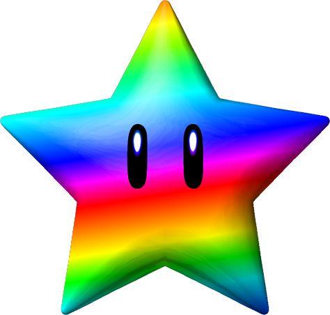 Falling Stars clipart superstar Mario Pinterest on Rainbow Rainbow