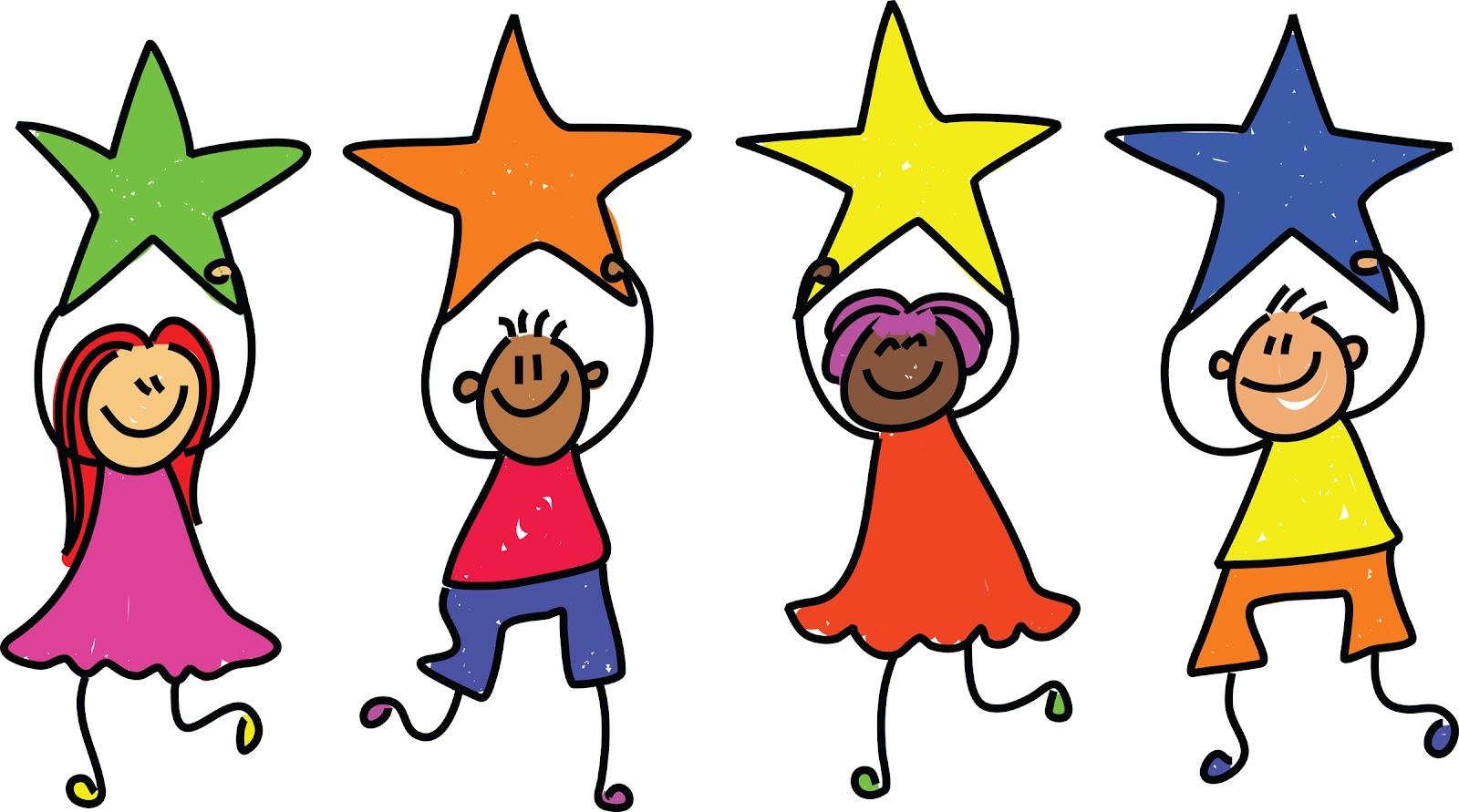 Falling Stars clipart superstar Kids Panda Clipart Clipart Kindergarten
