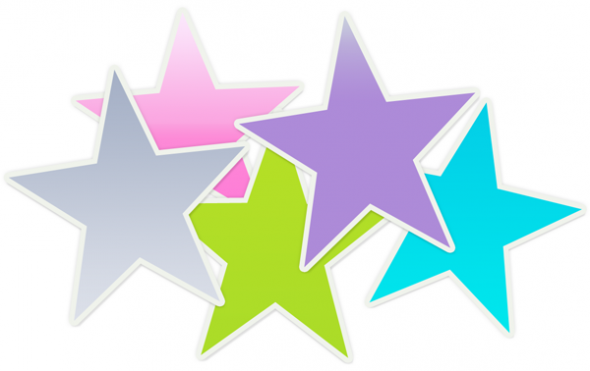 Falling Stars clipart superstar Clipart background Stars in 20clipart