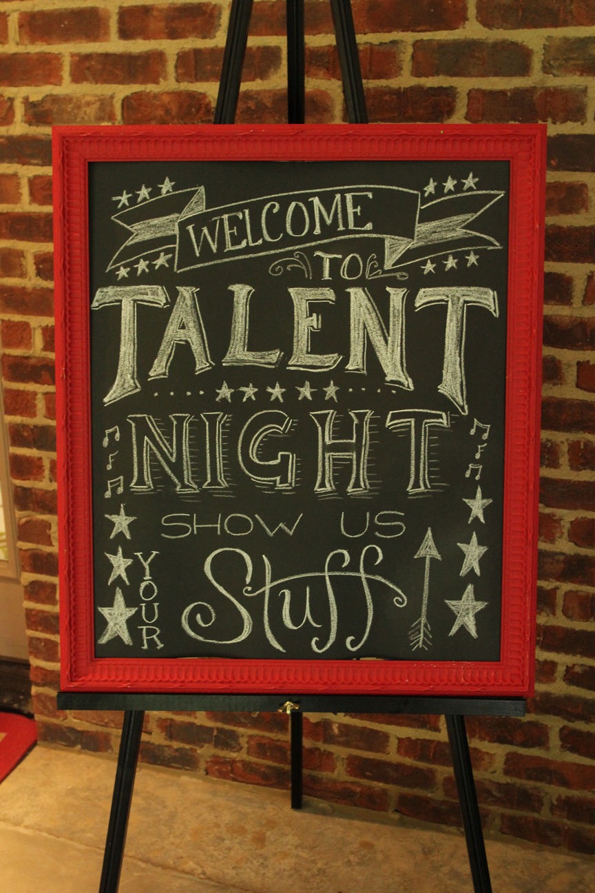 Falling Stars clipart talent show Decorating the Show Talent A