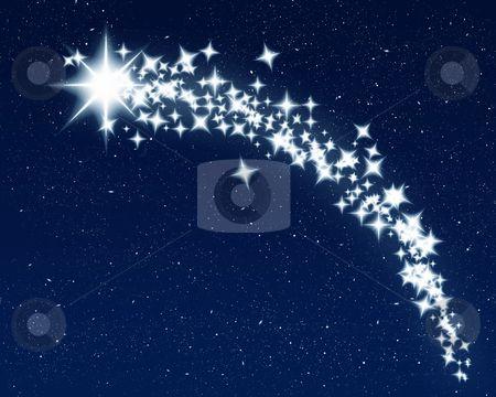 Falling Stars clipart the sky clip art Image  Toko vector shooting