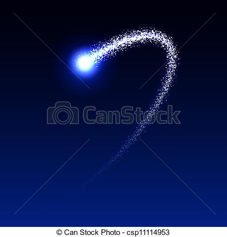 Falling Stars clipart the sky clip art Csp11114953 Vector of  star