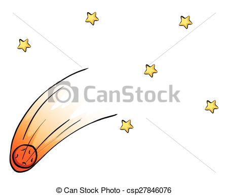 Falling Stars clipart the sky clip art The  from sky sky