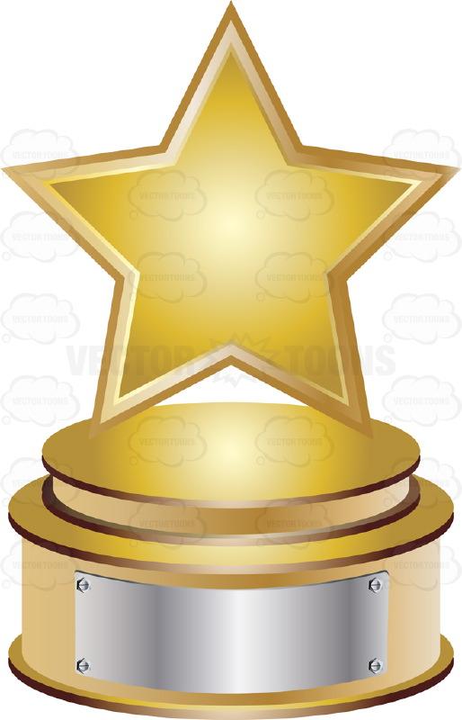 Trophy clipart star trophy On 00 Eagle  Base