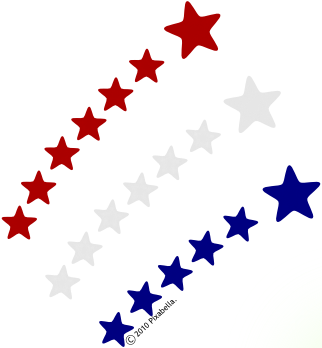 America clipart american star – star Shooting clipart com